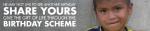 BMS birthday scheme logo