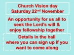 church vision day